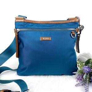 TUMI Teal Capri Crossbody Bag